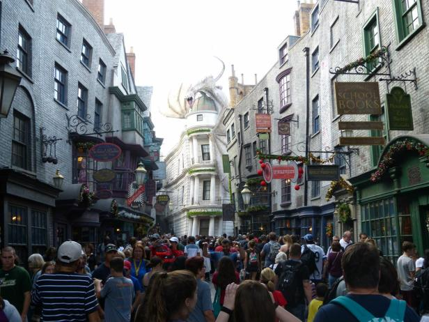 Diagon Alley in der Wizarding World of Harry Potter in Universal Studios Orlando