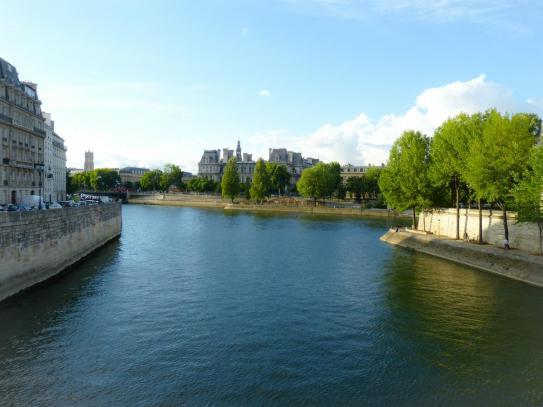 Auf der Seine in Paris