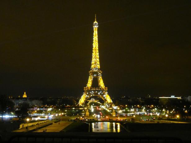 Glitzernder Eiffelturm - blink blink Paris