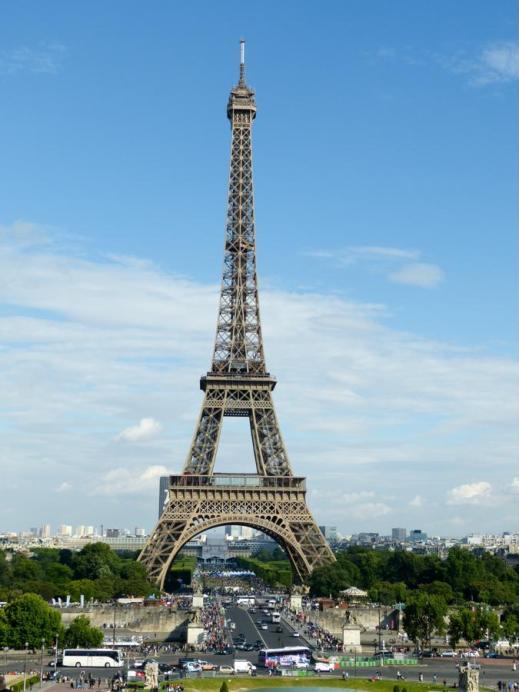 Das Pariser Wahrzeichen - der Eiffelturm