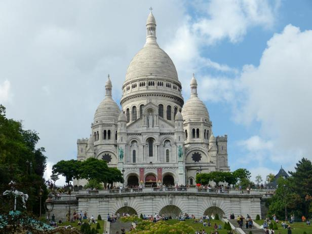 Zuckerbäckerkirche Sacré Coeur in Paris