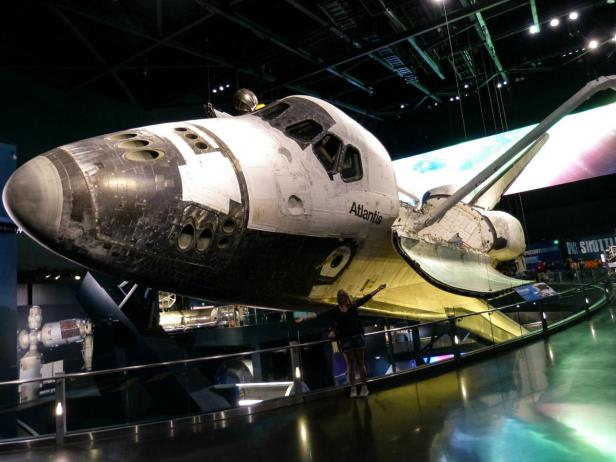 Space Shuttle Atlantis - das Original im Kennedy Space Center, Cape Canaveral